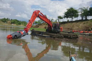 Amphibious Undercarriage - Bucket & Long Reach Manufacturing Malaysia